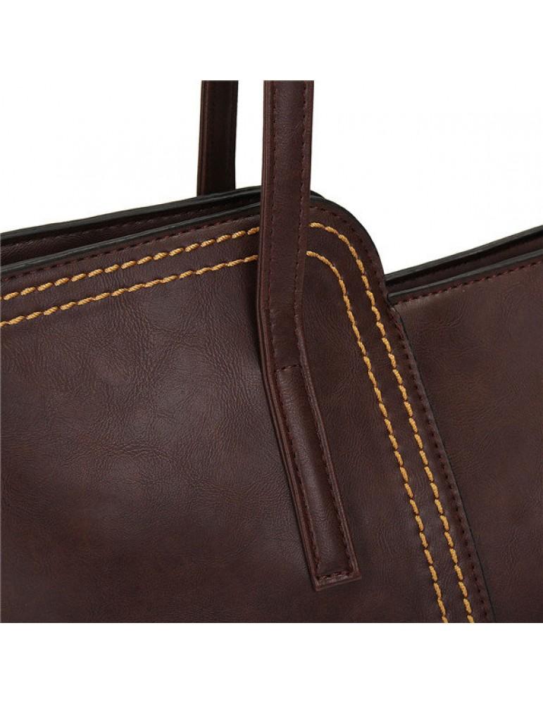 Women Vintage Tassel Casual Handbag Retro Leisure Shoulder Bag