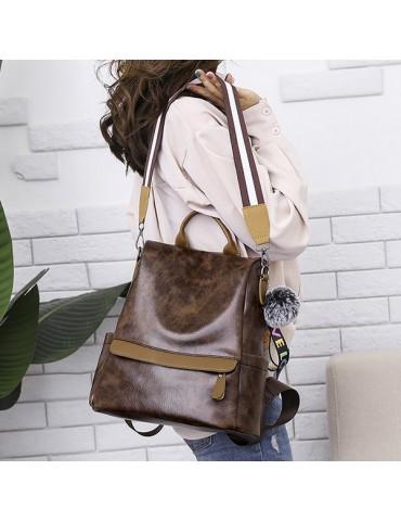 Leisure Multi-function Backpack Shoulder Bag Handbag For Women